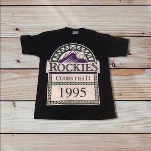 1995 Colorado Rockies Tee